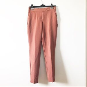 Eliane Rose pink trousser pants with pockets